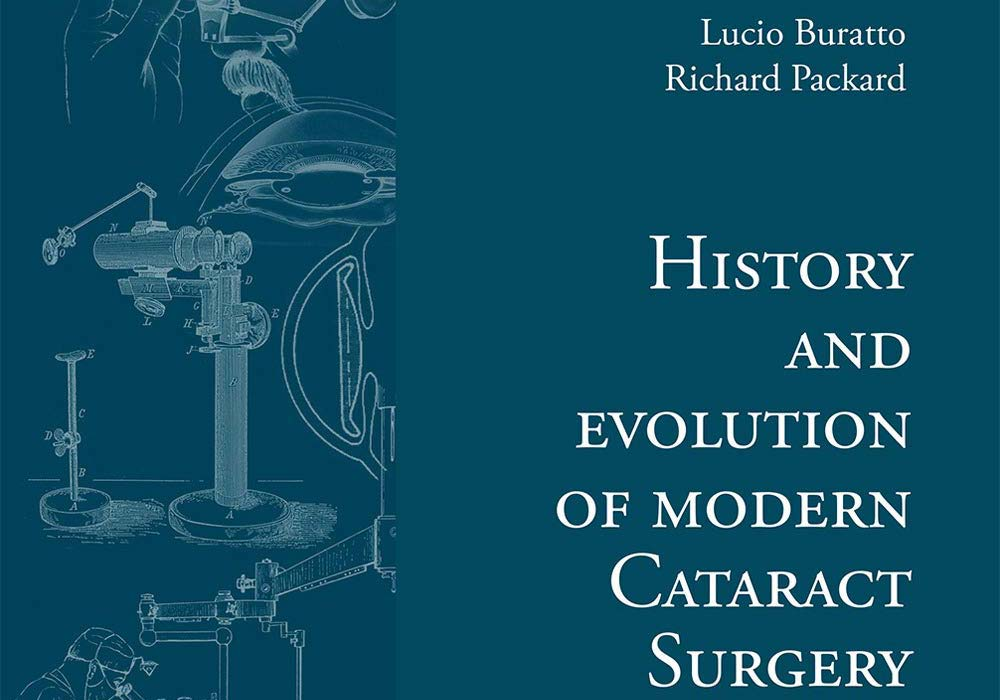 Copertina libro History and Evolution of Modern Cataract Surgery